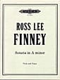 Sonate in A minor - Ross Lee Finney - Partition - laflutedepan.com