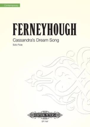 Brian Ferneyhough - Cassandra's Dream Song - Flute solo - Partition - di-arezzo.fr
