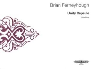 Brian Ferneyhough - Unity Capsule - Flauta solista - Partitura - di-arezzo.es