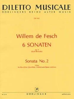 6 Sonaten op. 6 - Sonata Nr. 2 F-Dur - laflutedepan.com