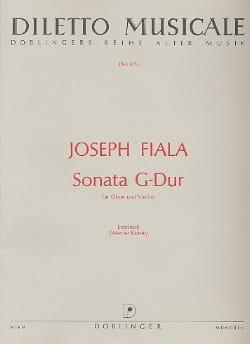 Sonata G-Dur - Oboe Violine - Joseph Fiala - laflutedepan.com