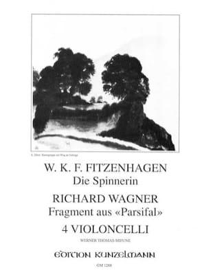 Die Spinnerin op. 59 n° 2 / Fragment aus Parsifal - laflutedepan.com