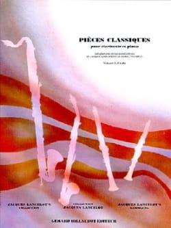 Pièces classiques - Clarinette - Volume 3 laflutedepan
