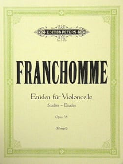 Auguste Franchomme - Etüden für Violoncello, op. 35 - Sheet Music - di-arezzo.co.uk