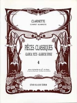 Lancelot Jacques / Patrick André - Pièces classiques - Clarinette – Volume 4 - Partition - di-arezzo.fr