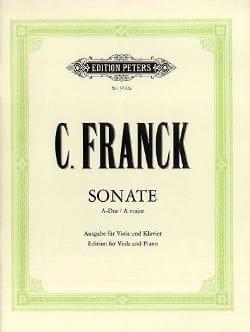 Sonate A-Dur - Viola - César Franck - Partition - laflutedepan.com