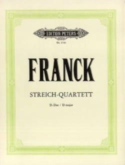 César Franck - Streichquartett D-Dur –Stimmen - Partition - di-arezzo.fr