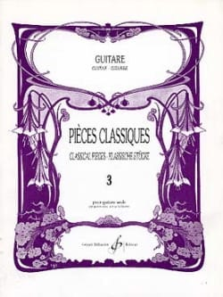 Louis Lautrec - Classic Pieces - Guitar - Volume 3 - Sheet Music - di-arezzo.co.uk