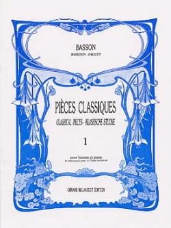 - Classic pieces - Volume 1 - Bassoon - Sheet Music - di-arezzo.com