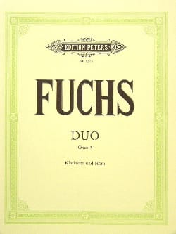 Georg Friedrich Fuchs - Duo op. 5 - Klarinette Horn - Partition - di-arezzo.fr