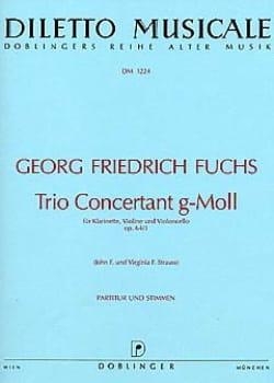 Trio concertant g-moll op. 64/3 –Klarinette Violine Cello - Partitur + Stimmen - laflutedepan.com