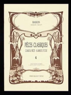 Classic Pieces - Volume 4 - Bassoon - Sheet Music - di-arezzo.com