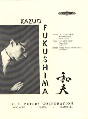 Kazuo Fukushima - Three pieces from Chu-U - Partition - di-arezzo.fr