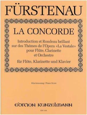 La Concorde -Flöte Klarinette Klavier Moritz Fürstenau laflutedepan
