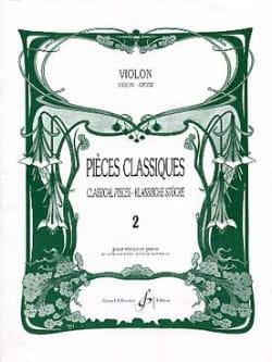 Pièces Classiques Volume 2 - Violon - Partition - laflutedepan.com