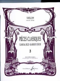 Patrice Sciortino - Klassiker Band 3 - Violine - Noten - di-arezzo.de