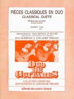 Horreaux Jean / Tréhard Jean-Marie - Piezas clásicas en dueto - Volume 2 guitars - Partitura - di-arezzo.es