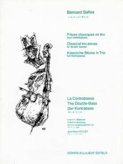 Bernard Salles - Classic pieces in trio - Sheet Music - di-arezzo.co.uk