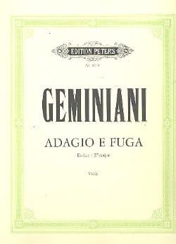 Adagio e Fuga - Francesco Saverio Geminiani - laflutedepan.com