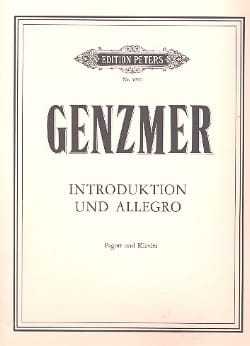 Harald Genzmer - Introduktion und Allegro - Sheet Music - di-arezzo.com