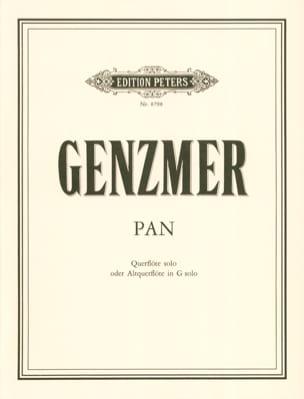 Harald Genzmer - Pan - Solo flute o. Solo solo - Sheet Music - di-arezzo.com
