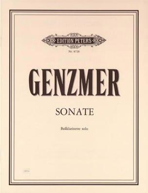 Harald Genzmer - Sonata - Bassklarinette solo - Sheet Music - di-arezzo.com