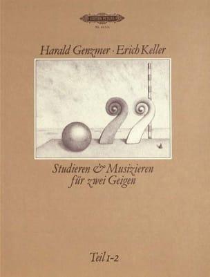 Genzmer Harald / Keller Erich - Studieren und Musizieren, Teil 1-2 - Sheet Music - di-arezzo.com