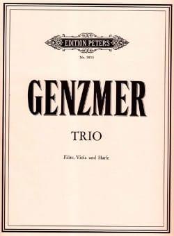 Harald Genzmer - Trio - Partition - di-arezzo.fr