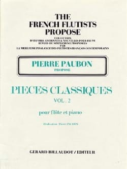 Pierre Paubon - Classical Pieces - Volume 2 - Flute and Piano - Sheet Music - di-arezzo.com