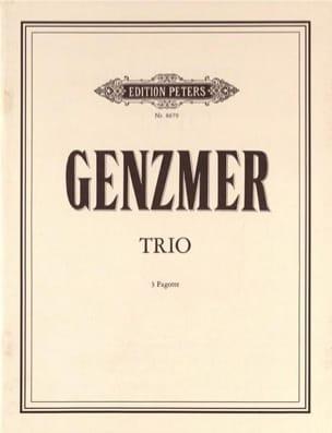 Harald Genzmer - Trio - Sheet Music - di-arezzo.com