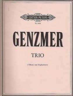 Harald Genzmer - Trio - 2 Oboen Englischhorn - Partitur Stimmen - Sheet Music - di-arezzo.co.uk
