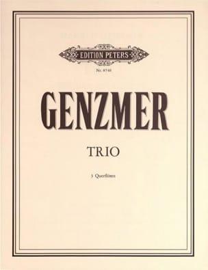 Trio – 3 Flöten - Harald Genzmer - Partition - laflutedepan.com