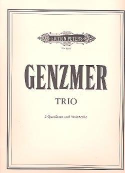 Harald Genzmer - Trio – 2 Flöten Violoncello - Partitur + Stimmen - Partition - di-arezzo.fr