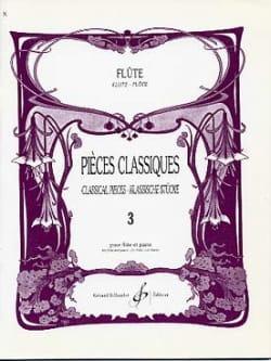 Pieces classiques - Volume 3 - Flûte et piano - laflutedepan.com