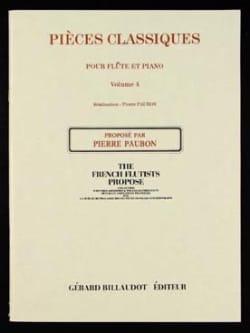 Pièces classiques - Volume 4 - Flûte et piano - laflutedepan.com