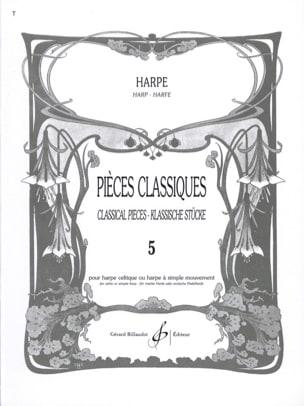 Pièces classiques Volume 5 - Harpe Partition Harpe - laflutedepan