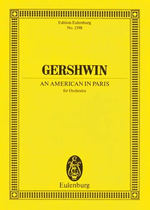 George Gershwin - An American In Paris - Driver - Sheet Music - di-arezzo.co.uk