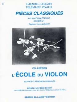 Pièces Classiques Cahier N° 1 Pierre Doukan Partition laflutedepan