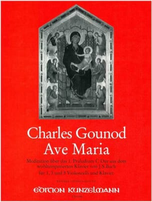 Charles Gounod - Ave Maria - Violoncelle(S) Piano - Partition - di-arezzo.fr