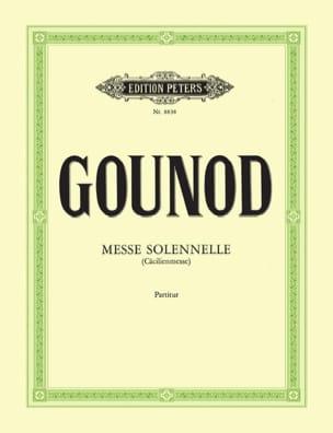 Charles Gounod - Messe solennelle de Sainte Cécile - Conducteur - Partition - di-arezzo.fr