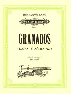 Enrique Granados - Danza Espanola N ° 2 - Sheet Music - di-arezzo.com
