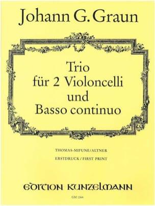 Johann Gottlieb Graun - Trio - Partition - di-arezzo.fr