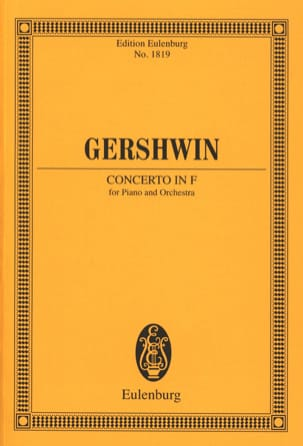 George Gershwin - Klavier-Konzert F-Dur - Driver - Sheet Music - di-arezzo.co.uk