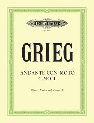 Edvard Grieg - Andante con Moto c-moll –Stimmen - Partition - di-arezzo.fr