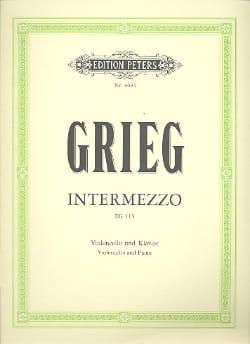 Edvard Grieg - Intermezzo EG 115 - Partition - di-arezzo.fr