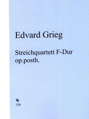 Streichquartett F-Dur op. posth. - Stimmen - laflutedepan.com