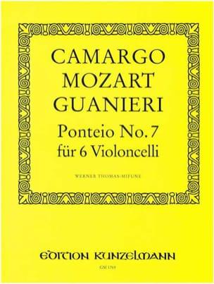 Camargo Mozart Guanieri - Ponteio n° 7 - Partition - di-arezzo.fr
