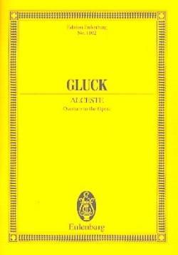 Alceste - Ouverture GLUCK Partition Petit format - laflutedepan