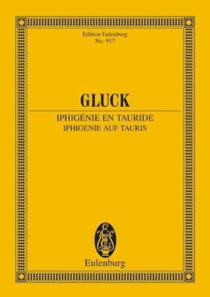 Iphigenie auf Tauris GLUCK Partition Petit format - laflutedepan
