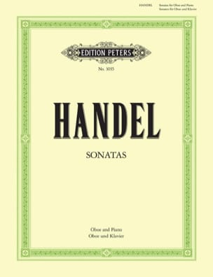 HAENDEL - 2 Sonaten - Oboe Klavier - Sheet Music - di-arezzo.co.uk